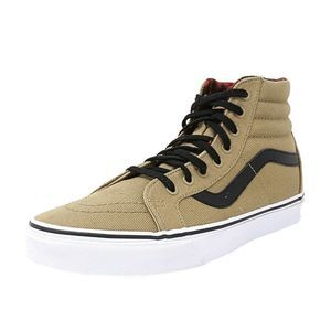 Vans Sk8-Hi Reissue Twill Shoes Size 9.0/10.5